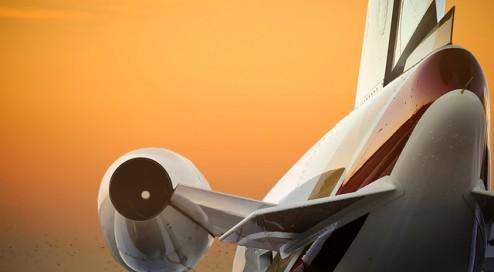 Privatjet-statt-Linienflug